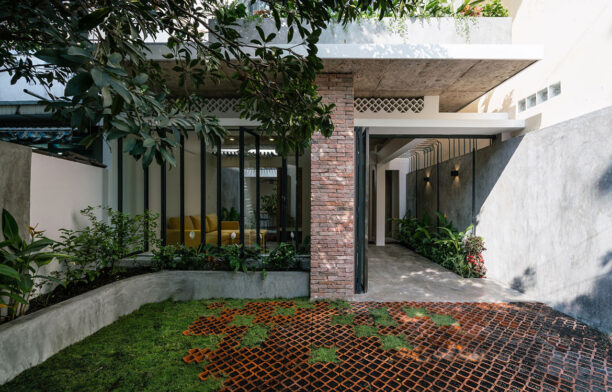 Umbrella House by AD+studio (Vietnam) cc Quang Dam | Habitus Living House of the Year 2019