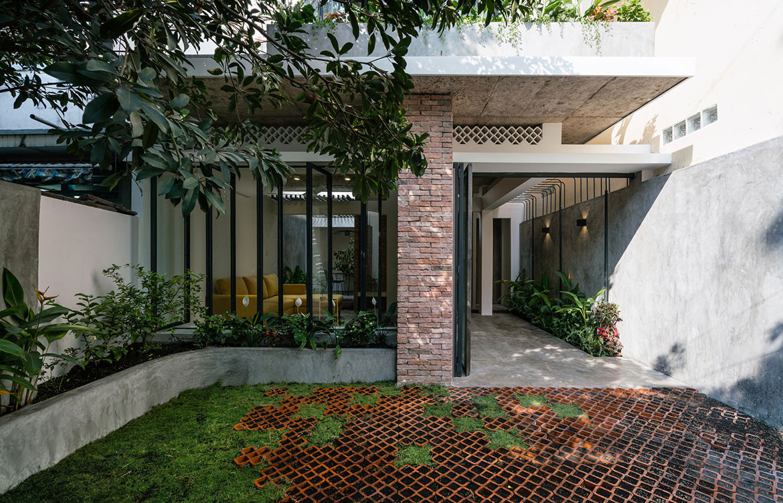Umbrella House by AD+studio (Vietnam) cc Quang Dam | Habitus House of the Year 2019