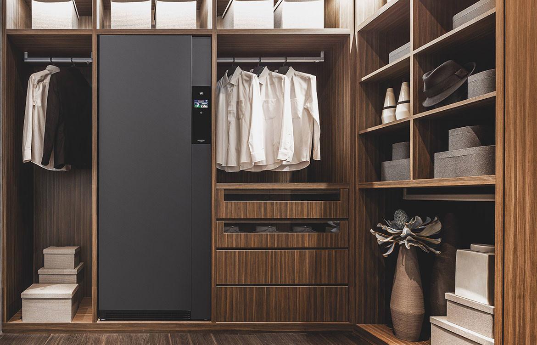 Refresh Butler Dark Timber Wardrobe