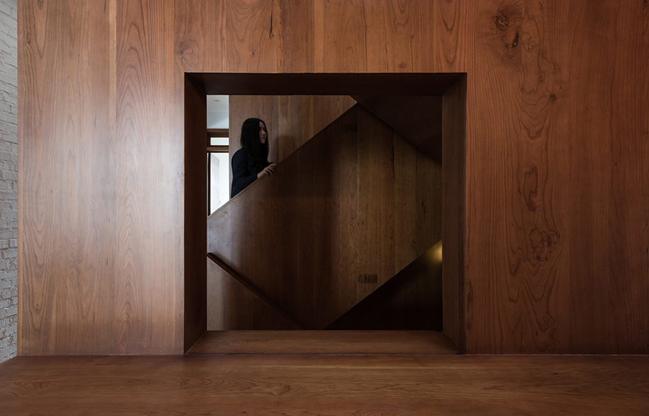 Vector Architects Captains House staircase