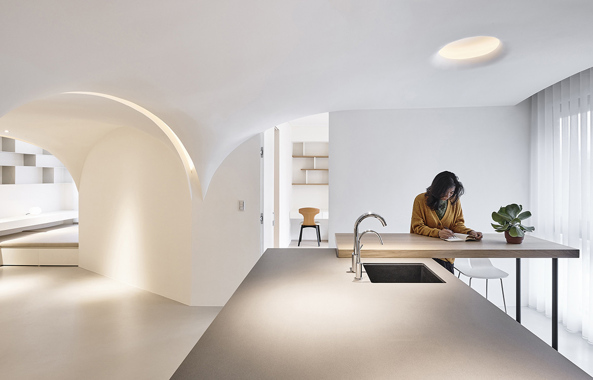 Very Studio | Che Wang Architects Sunny Apartment Taiwan kitchen