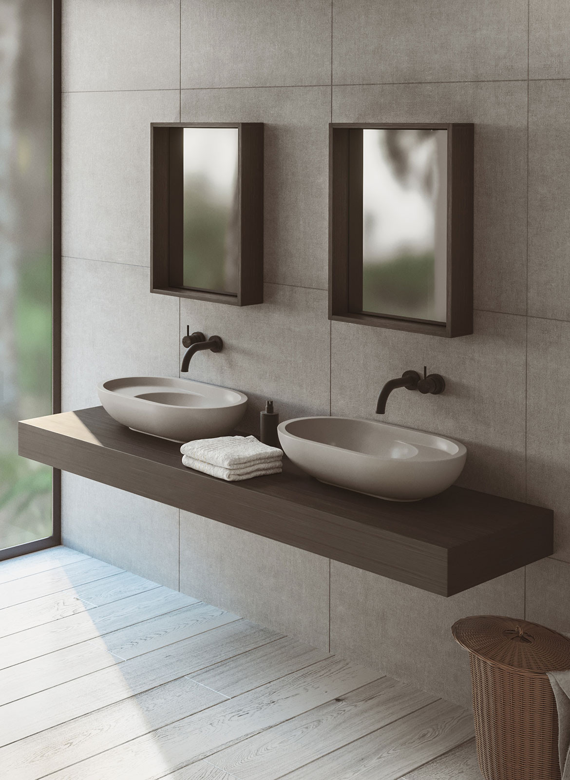 Omvivo Villa Collection Bathroom Products | Habitus Living