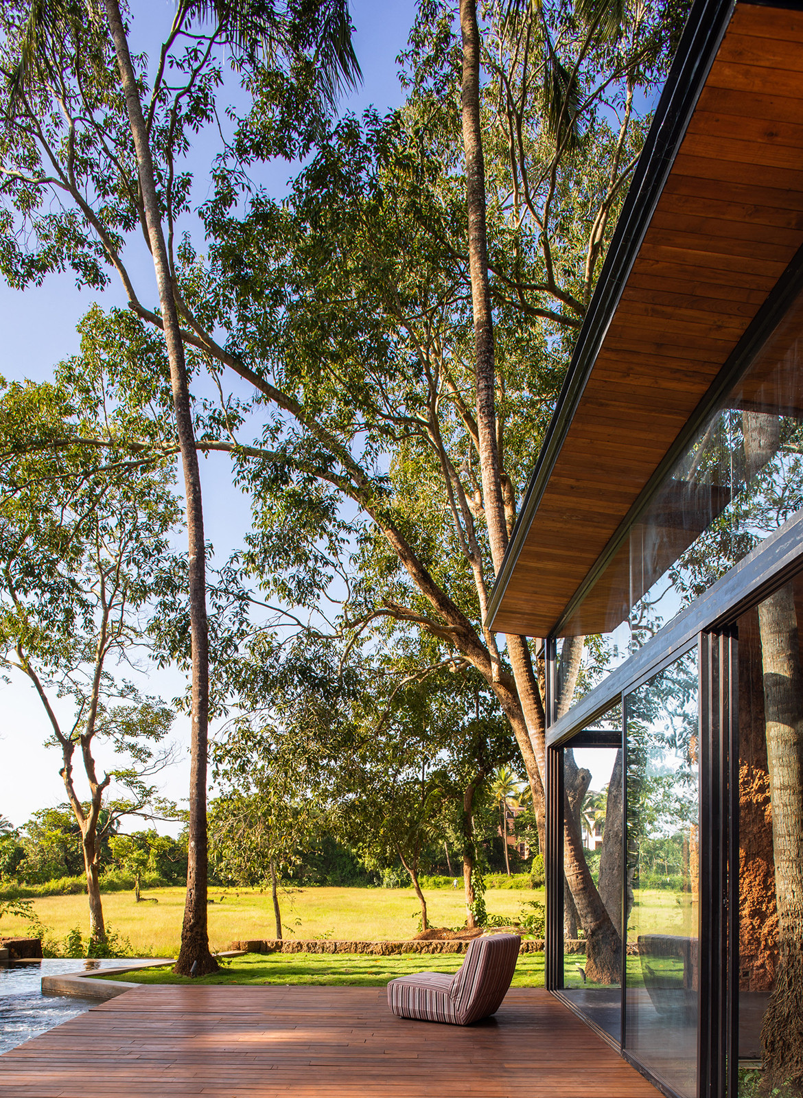 Villa In The Palms Abraham Jon Architects exterior deck
