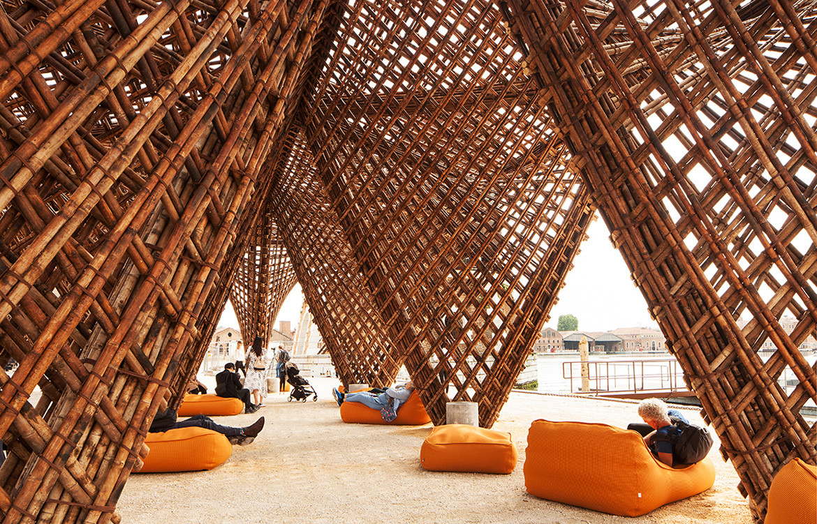 The Pavilion Frenzy vo trong nghia bamboo venice architecture beinnale