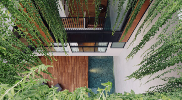 This Void House In Singapore A-Voids Prying Eyes