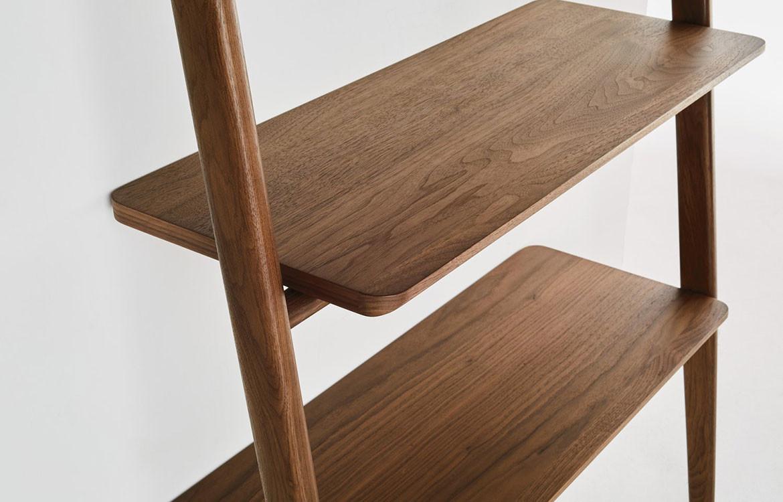Folk Ladder Desk with Books