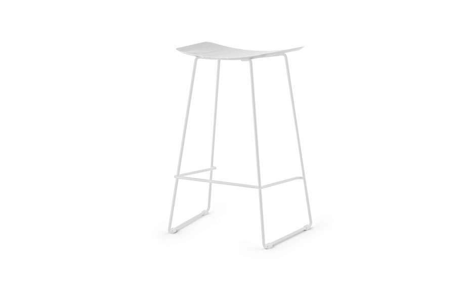 WINNIE-STOOL-66---WHITE-FRAME---SOLID-OAK-STAINED-WHITE-SEAT