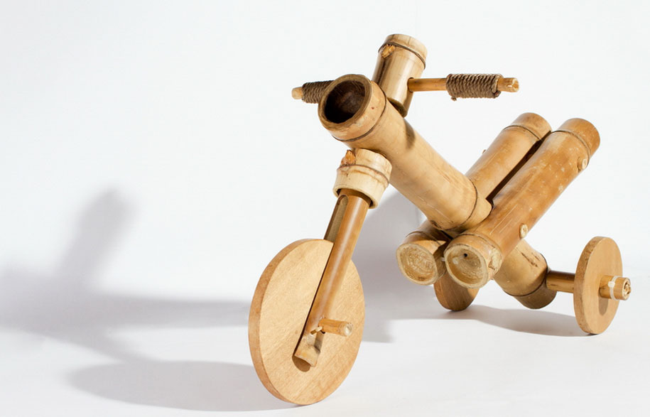 Reminiscing on childhood memories is the founding idea behind the innovative Bamboo Tricycle