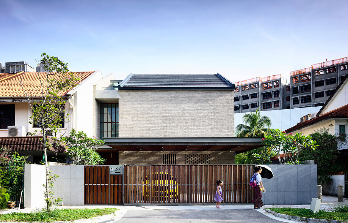 A Courtyard House In Singapore By Hyla Architects Habitus Living