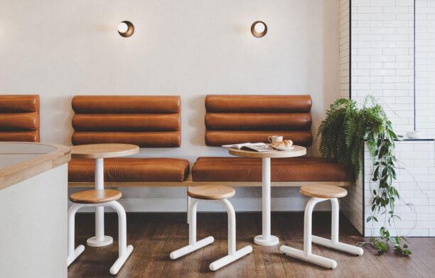 Wentworth Street Coffee Folk Studio CC Maca Whittle interior seats
