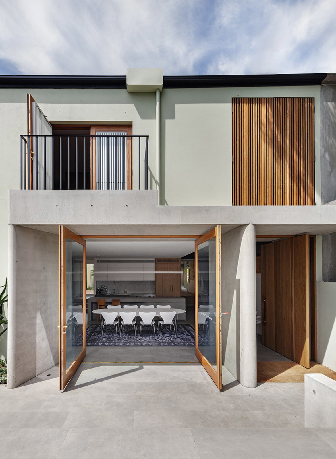 Woollahra House Nobbs Radford Architects CC Murray Fredericks