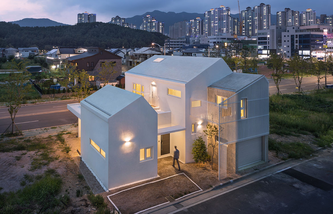 Yangsan House Architects Group Raum cc Yoon Joonhwan building