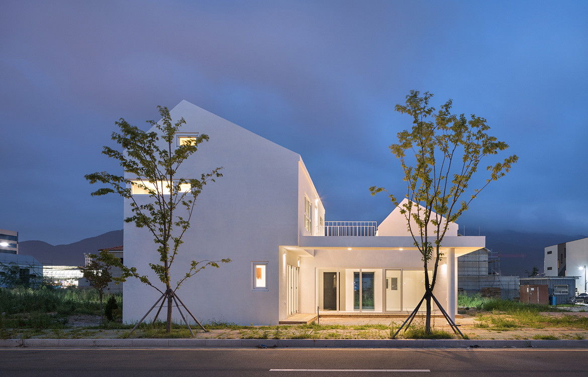 Yangsan House Architects Group Raum cc Yoon Joonhwan streetscape