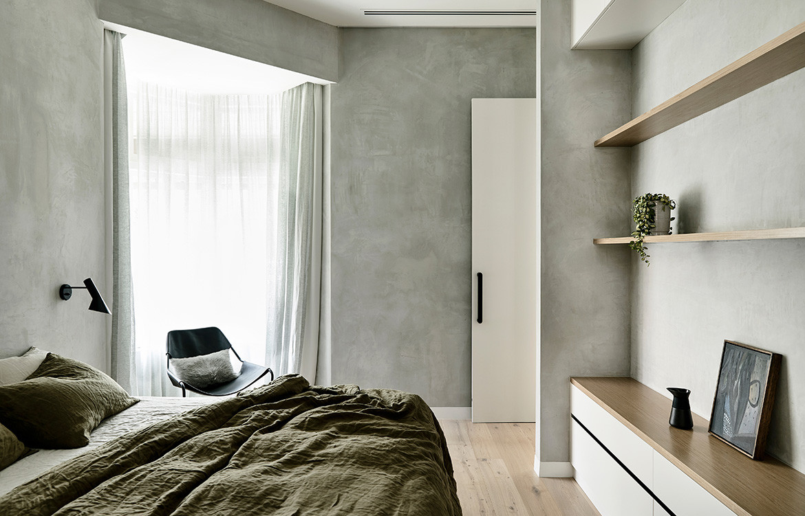 York Street Jackson Clements Burrows Architects CC Derek Swalwell bedroom