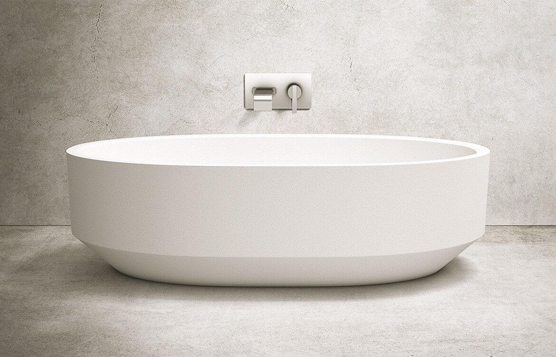 Apaiser Zen Oval Bath stand alone