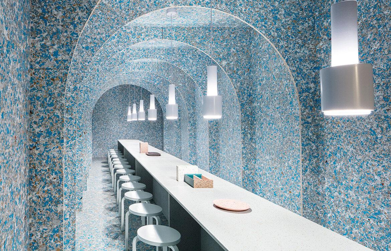 Zero Waste Bistro New York restaurant interior