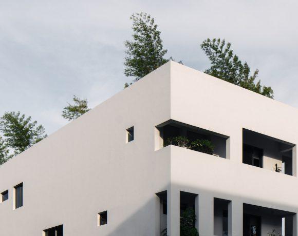 Envelope House