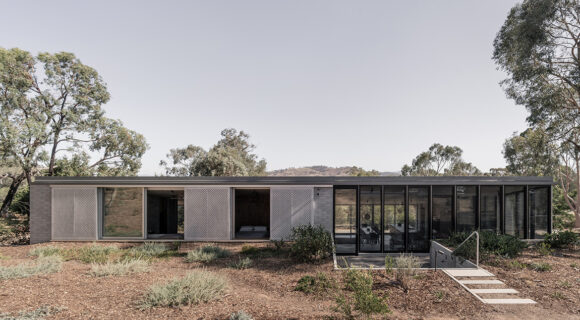 The Concrete Masterpiece That Is Albury House