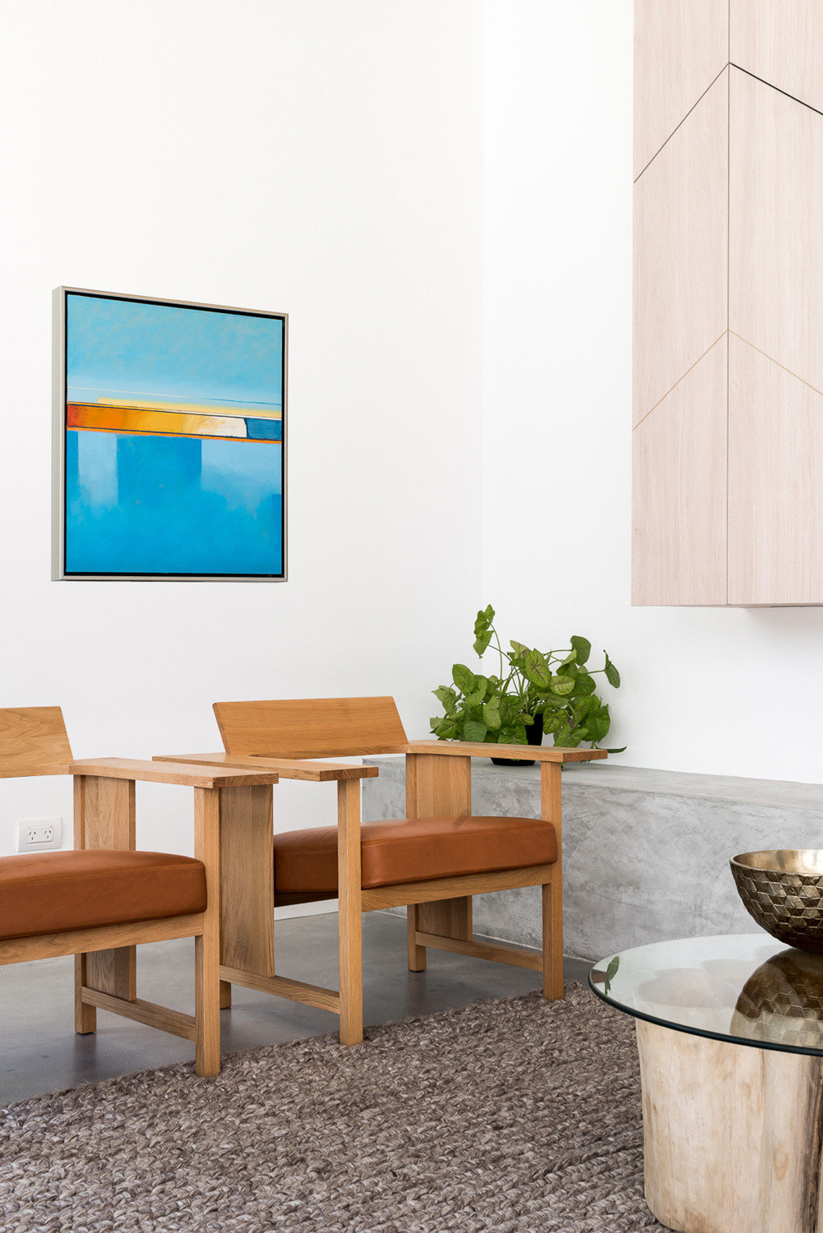 Axon Homes Photography by Dion Robeson Armchairs