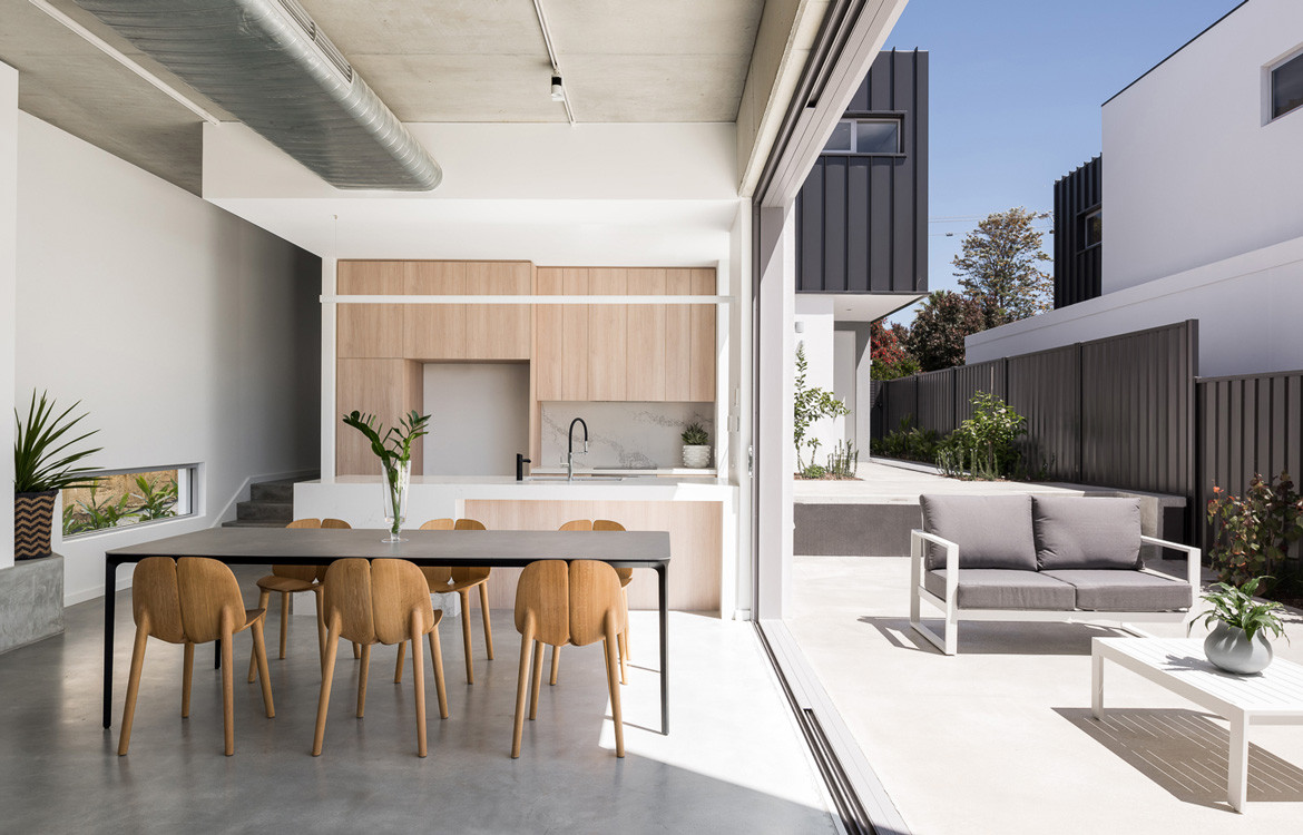Axon Homes Photography by Dion Robeson Open plan