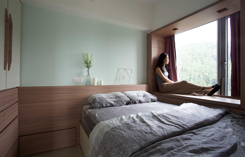 Bay House Sim-Plex Design Studio Bedroom view