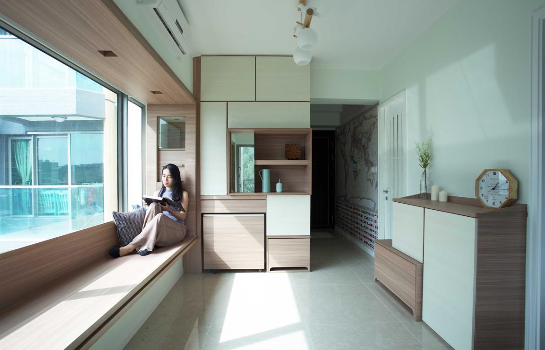 Bay House Sim-Plex Design Studio Storage unit view