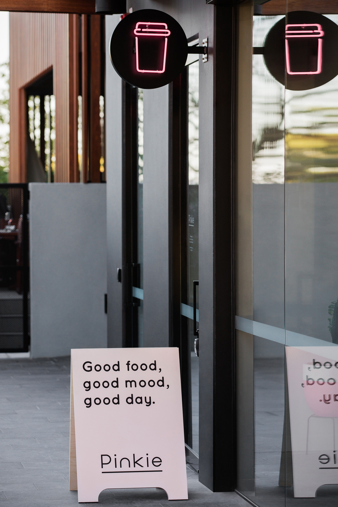 Biasol Pinkie Photography by James Morgan Entrance