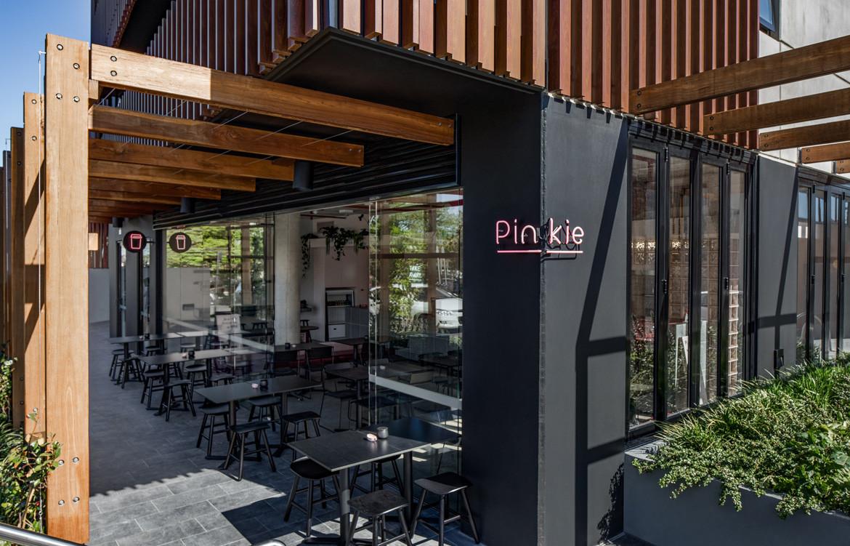Biasol Pinkie Photography by James Morgan External facade