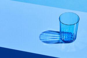 Optic Glass Blue