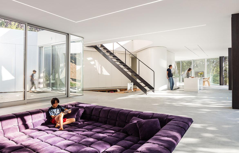 Conversation Piece: The Sunken Lounge  Habitus Living