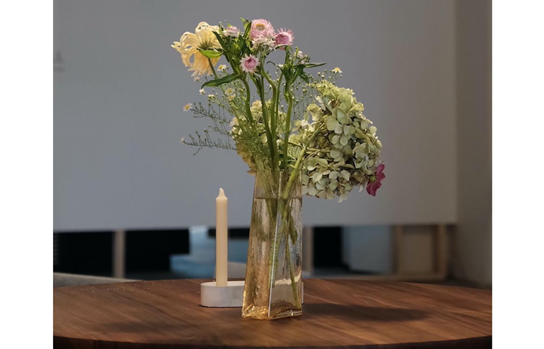 Flowers Pillar Vase
