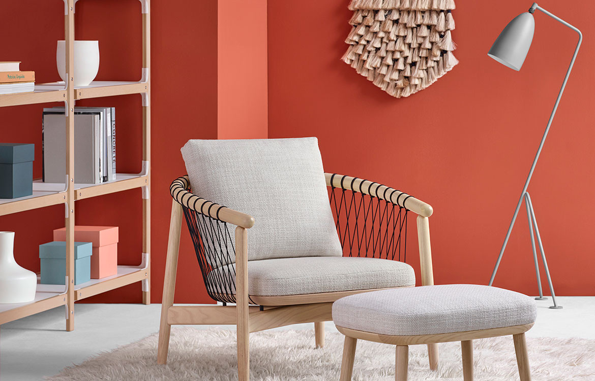 Habitus Loves… Hand-Crafted Comfort | Herman Miller Crosshatch chair from Living Edge