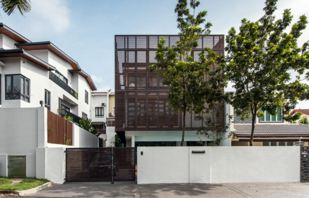 Damansara House Enedeavour Land Front facade