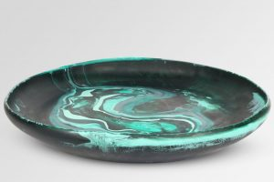 Extra Large Resin Earth Bowl 1