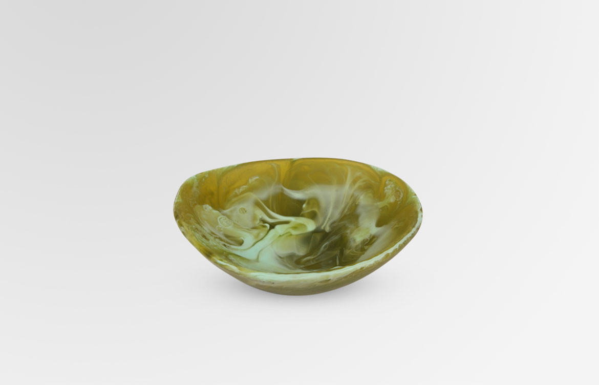 Resin Flow Soy Dish
