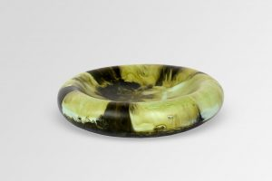 Large Resin Mother Of Pearl Dish 1