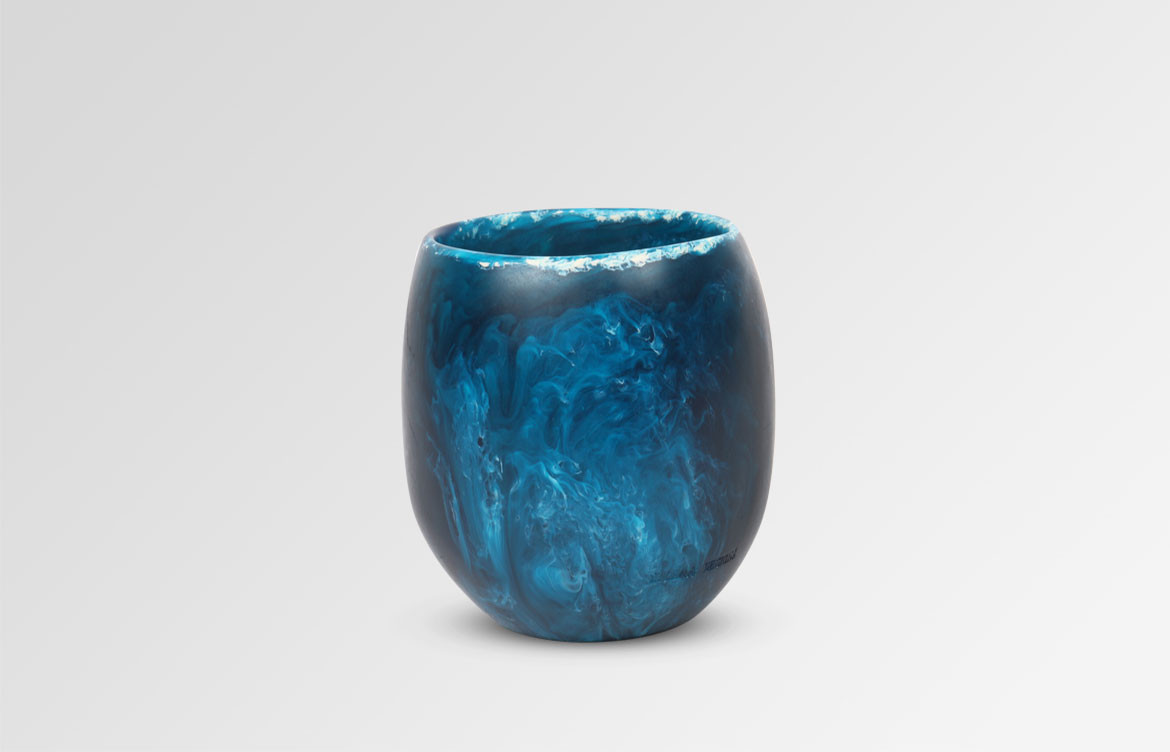 Large Resin Rock Cup 1