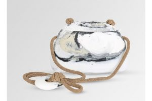 RESIN RIVERSTONE HANDBAG