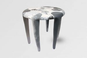 Small Liquid Moon Table