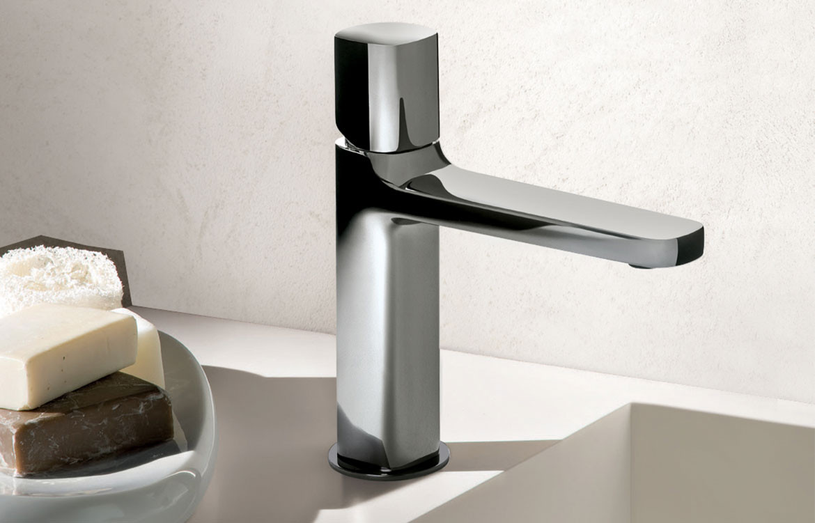 Fantini Lamé Basin Mixer Chrome 01