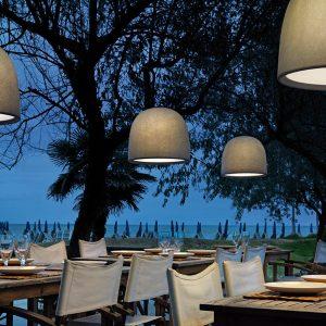 Espo Lighting Campanone Indoor Outdoor Pendants