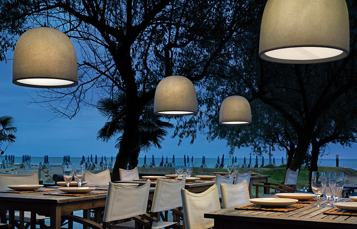 Espo Lighting Campanone Indoor Outdoor Pendants