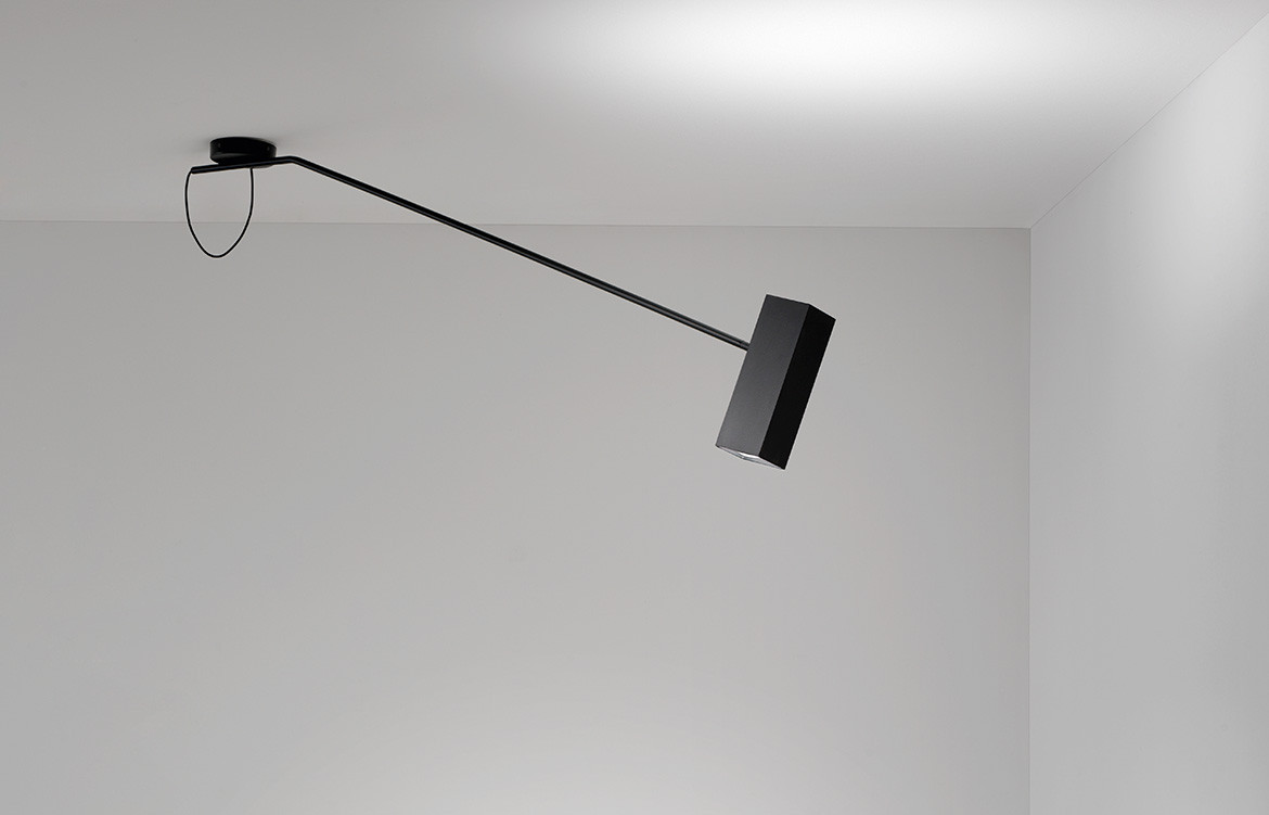 Espo Lighting Dejavu Ceiling Black