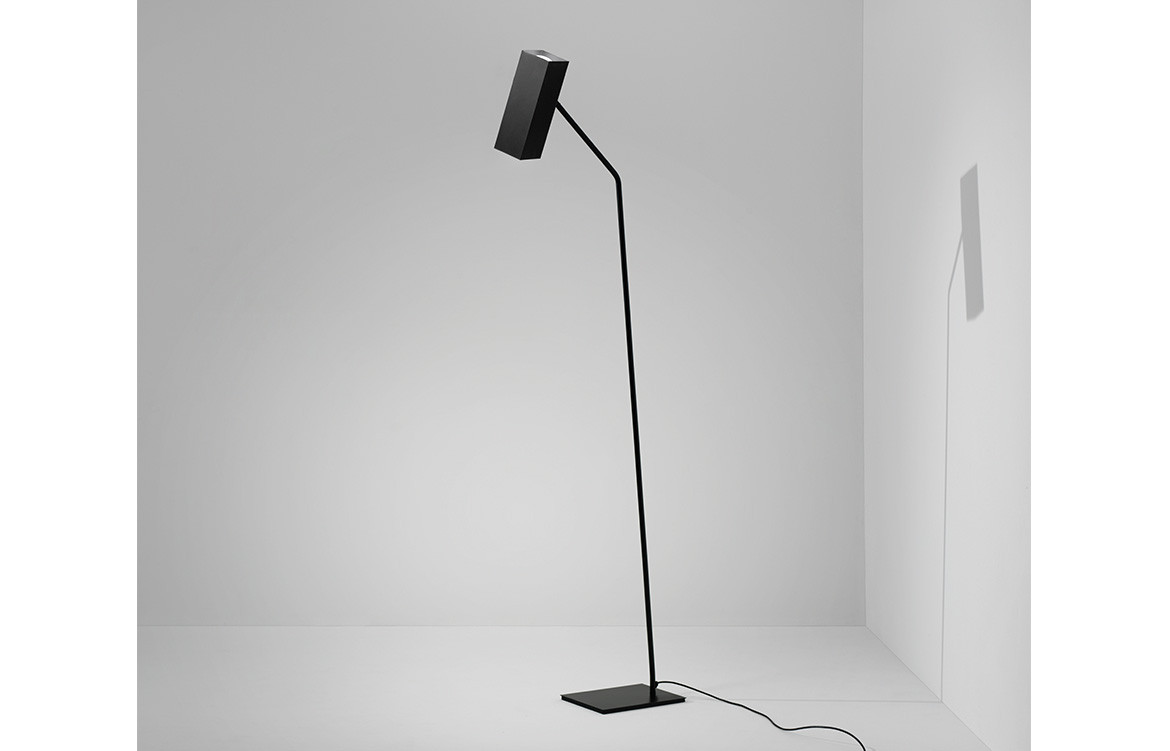 Espo Lighting Dejavu floor lamp black