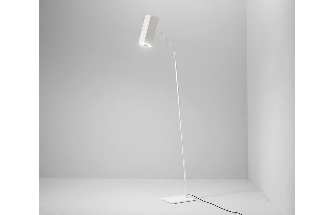 Espo Lighting Dejavu floor lamp white