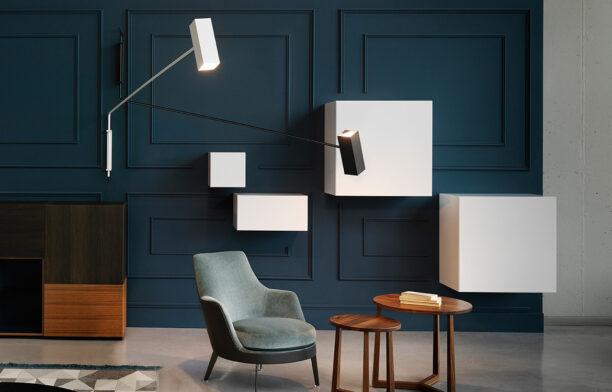 Espo Lighting Dejavu White Black Wall lamp