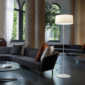Espo Lighting Disk floor lamp