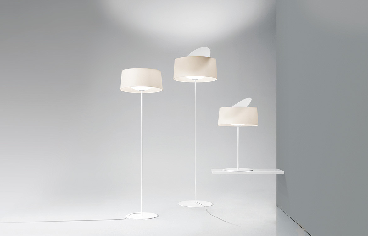 Espo Lighting Disk floor lamp group