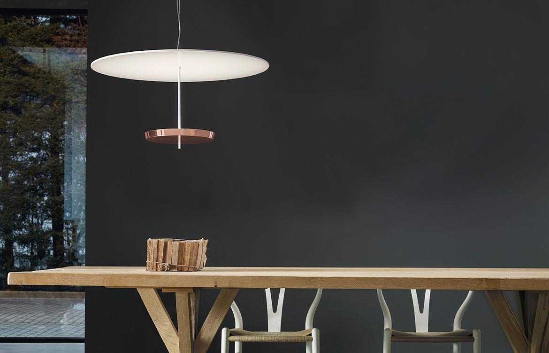 Espo Lightig Ombrella Copper
