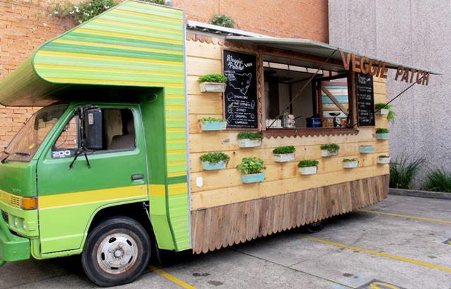 designing a food truck. Black Bedroom Furniture Sets. Home Design Ideas